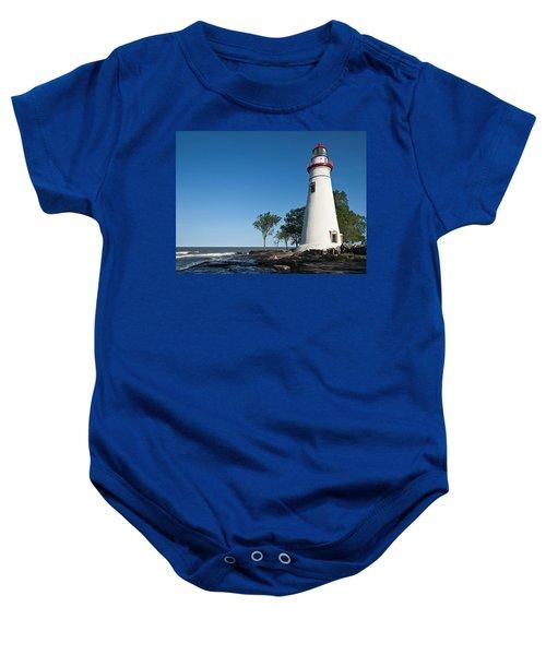 Marblehead Lighthouse Baby Onesie