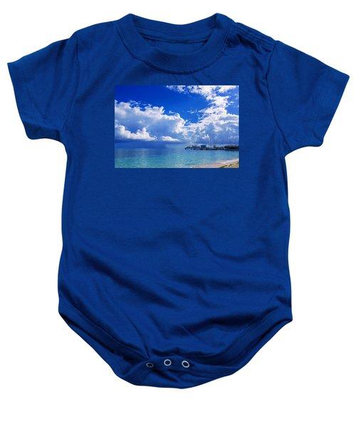 Massive Caribbean Clouds Baby Onesie