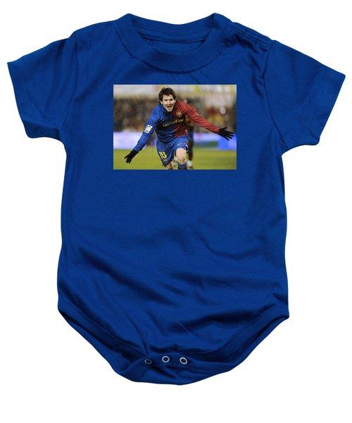 Messi 1 Baby Onesie