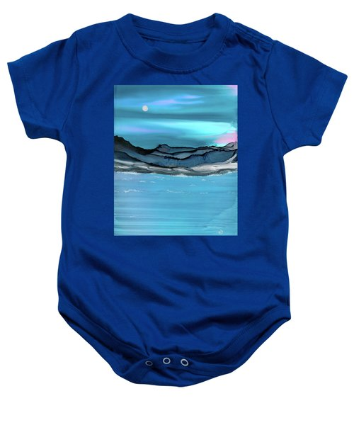 Midday Moon Baby Onesie