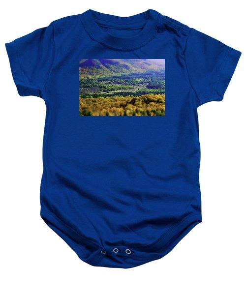 Mini Meadow Baby Onesie
