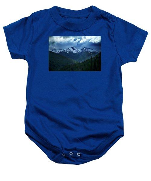 Montana Mountain Vista #2 Baby Onesie