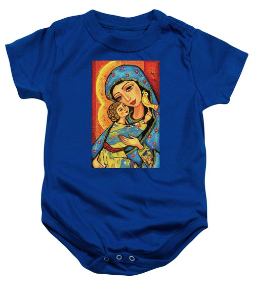 Mother Temple Baby Onesie by Eva Campbell