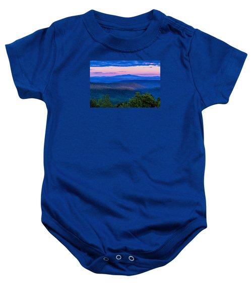 Mount Monadnock From Vermont Baby Onesie