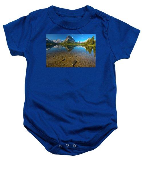 Mt. Grinnell Baby Onesie