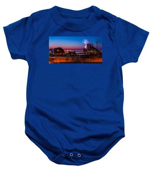 North Coast Harbor Baby Onesie