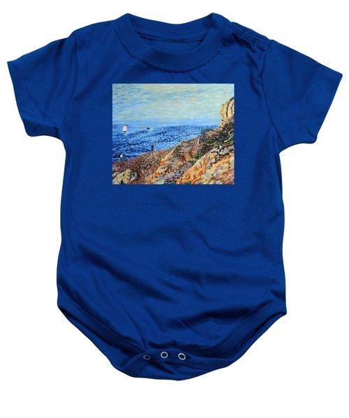 November Day At Point Lobos San Francisco Baby Onesie