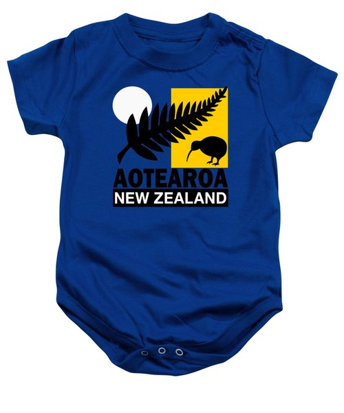 Nz-new Zealand Baby Onesie