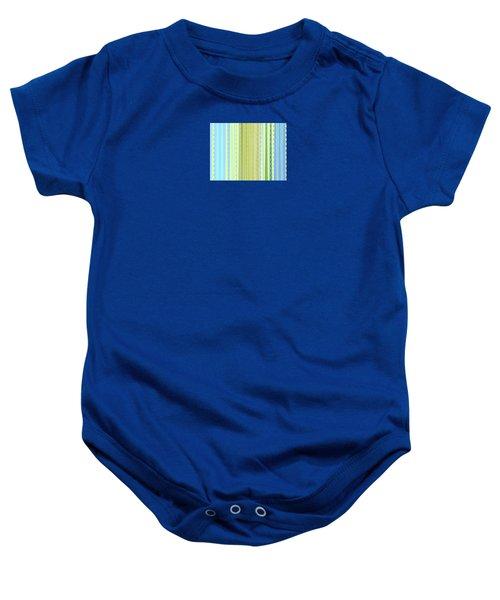Oceana Stripes Baby Onesie