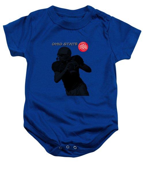 Ohio State Football Baby Onesie by David Dehner