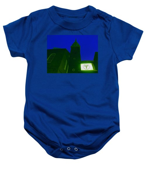 Old South Meeting House Baby Onesie