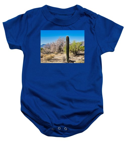 On The Ironwood Trail Baby Onesie