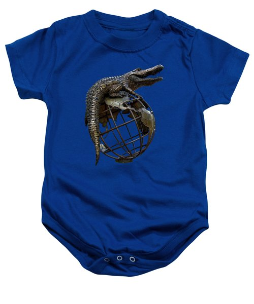 On Top Of The World Transparent For T Shirts Baby Onesie by D Hackett