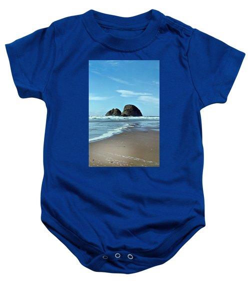 Oregon Coast 8 Baby Onesie