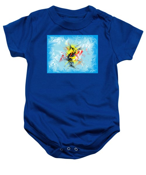 Out Of The Blue 5 Baby Onesie