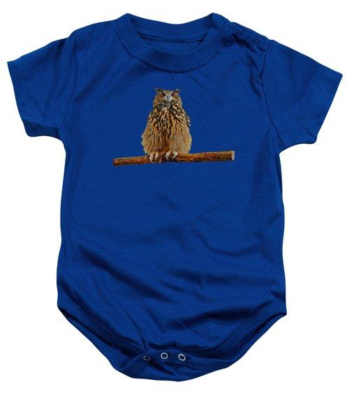 Owl Art Baby Onesie