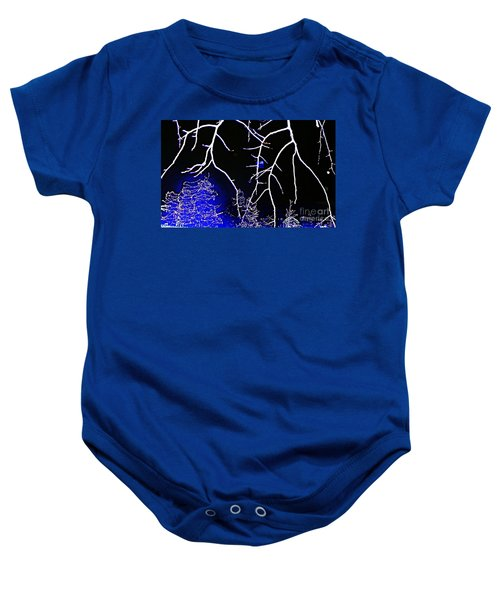 Pain At Christmastime Baby Onesie