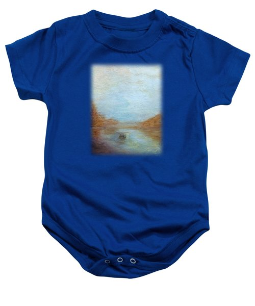 Peaceful Pond Baby Onesie