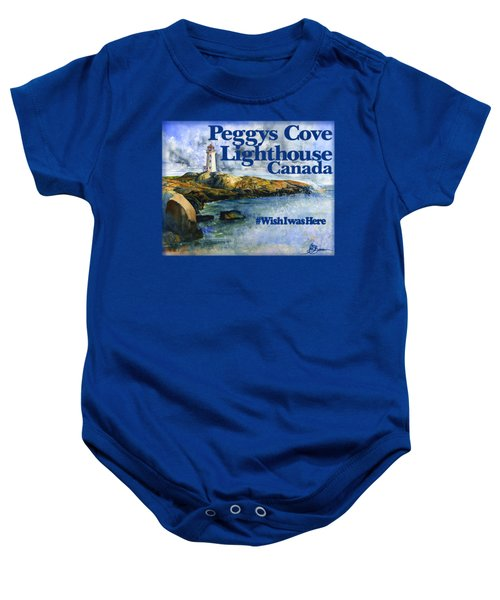 Peggys Cove Lighthouse Shirt Baby Onesie