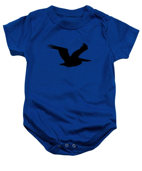 Pelican Profile .png Baby Onesie by Al Powell Photography USA