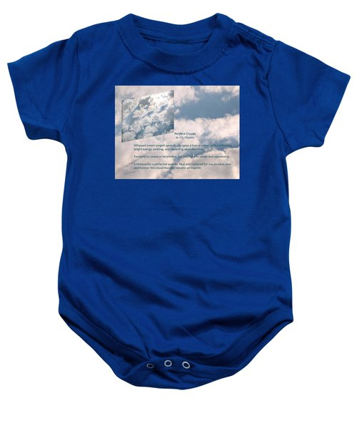 Perfect Clouds Baby Onesie