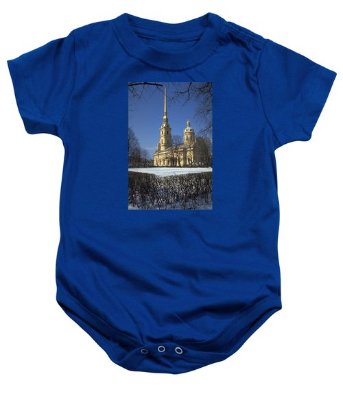 Peter And Paul Cathedral Baby Onesie by Travel Pics