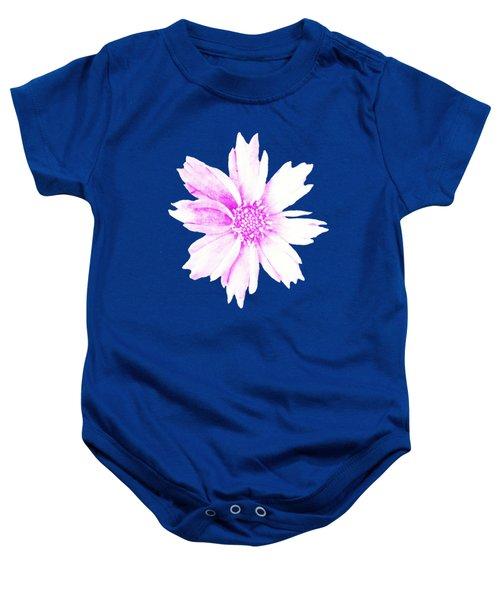 Pink Bloom Baby Onesie