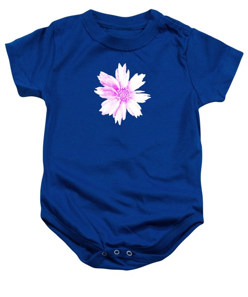 Pink Bloom Baby Onesie