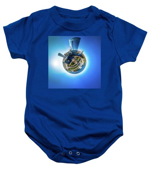 Planet Milwaukee Baby Onesie