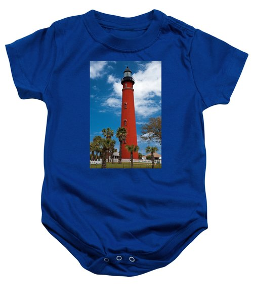 Ponce Inlet Lighthouse Baby Onesie