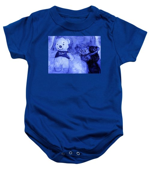 Pooh Bear And Friends Baby Onesie