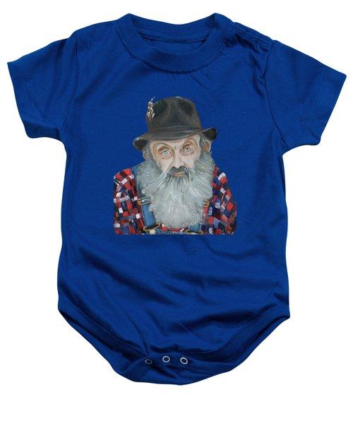 Popcorn Sutton Moonshiner Bust - T-shirt Transparent Baby Onesie