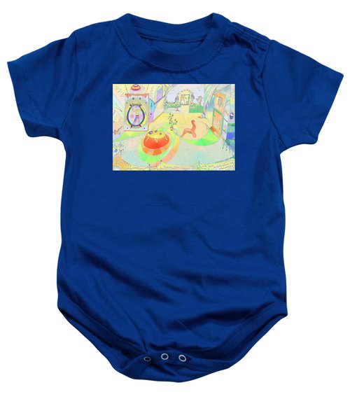 Portals And Perspectives Baby Onesie