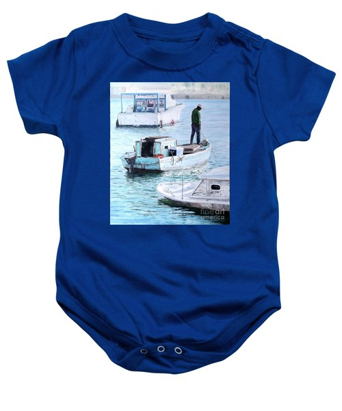 Potter's Cay Blues Baby Onesie