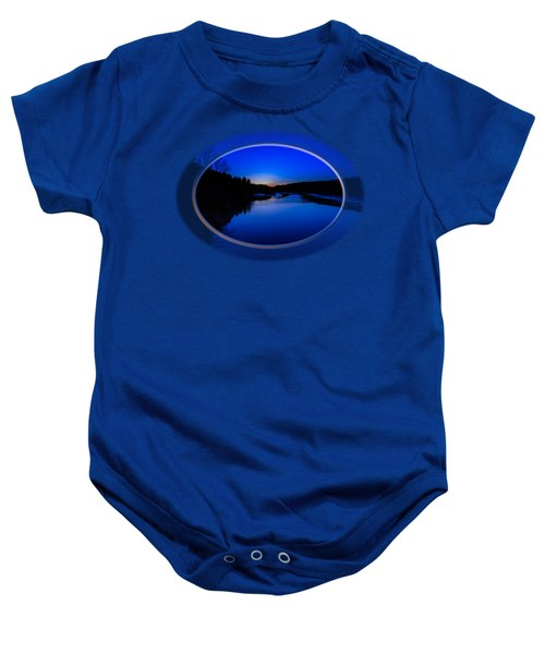 Presumpscot Blues Baby Onesie