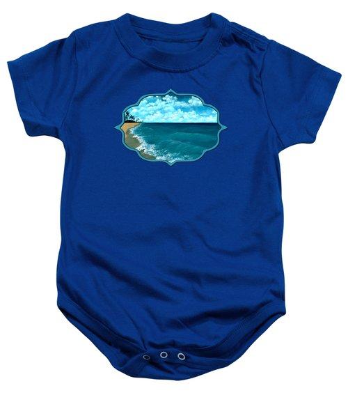 Punta Cana Beach Baby Onesie