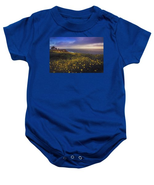 Rancho Palos Verdes Super Bloom Baby Onesie