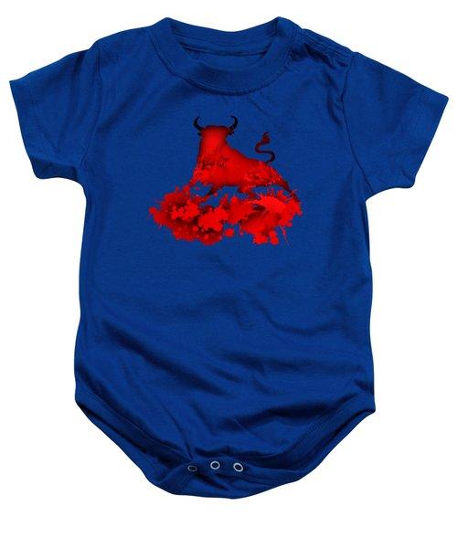 Red Bull.1 Baby Onesie