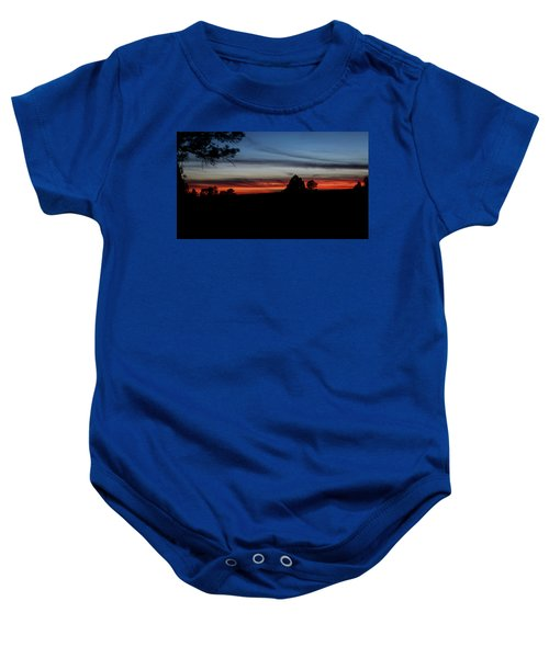 Red Sunset Strip Baby Onesie