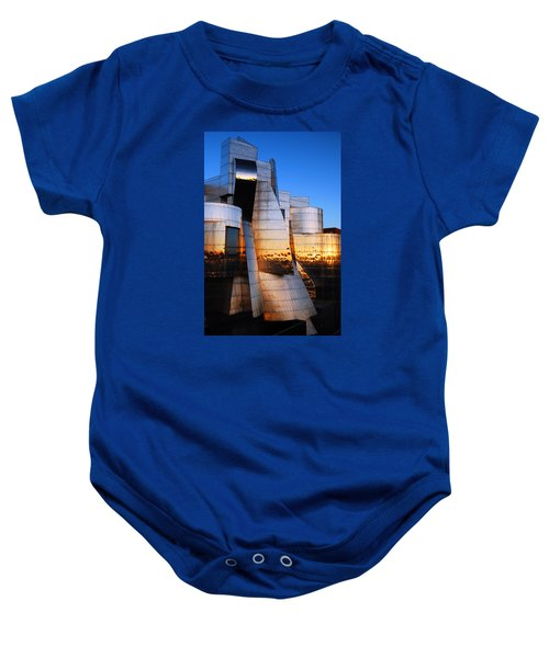 Reflections Of Sunset Baby Onesie by James Kirkikis