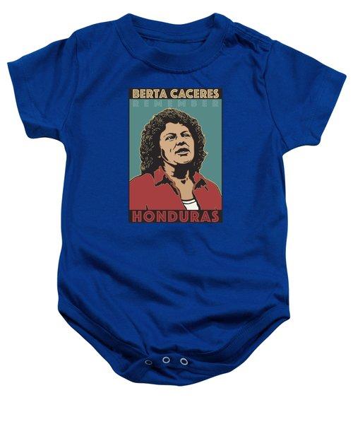 Remember Berta Caceres Baby Onesie