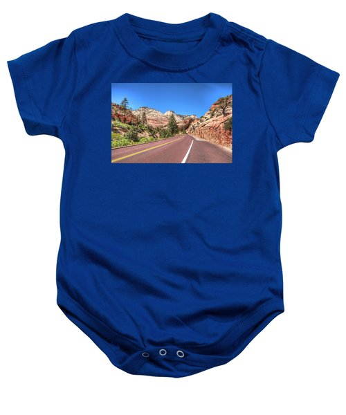 Road To Zion Baby Onesie
