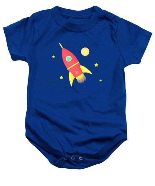 Rocket Baby Onesie by Yulia Litvinova