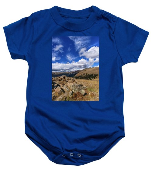 Rocky Mountain National Park Colorado Baby Onesie