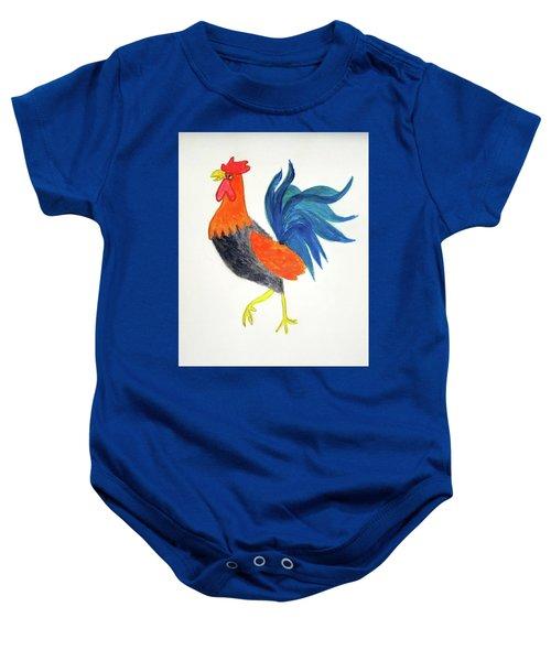 Rooster Awakens Us Baby Onesie