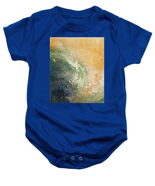 Rugged Coast Aerial View Baby Onesie