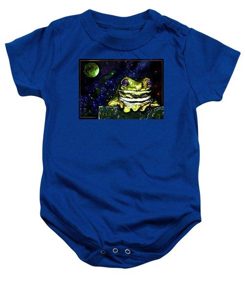 Ruler Of The Cosmos  Baby Onesie