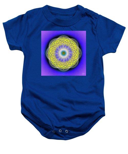 Sacred Geometry 655 Baby Onesie