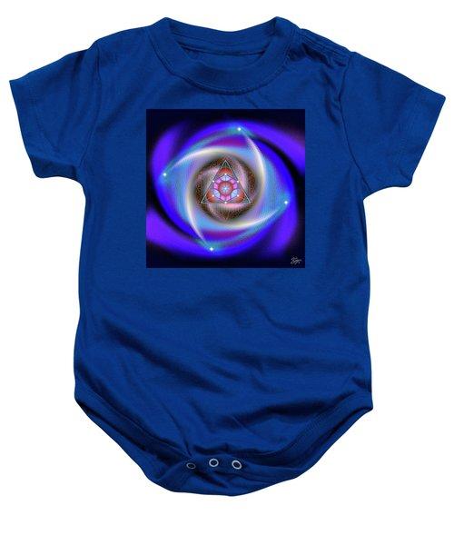 Sacred Geometry 687 Baby Onesie