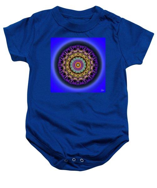 Sacred Geometry 708 Baby Onesie